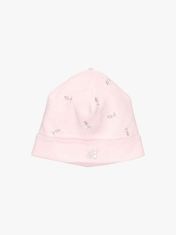 Emboidered Pull On Hat