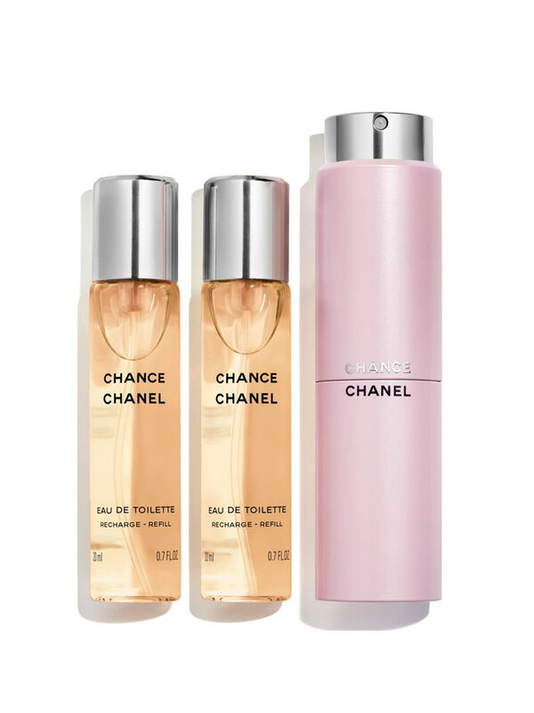 CHANCE Eau De Toilette Twist and Spray 3x20ml