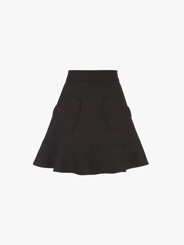 Frill Hem Heart Skirt