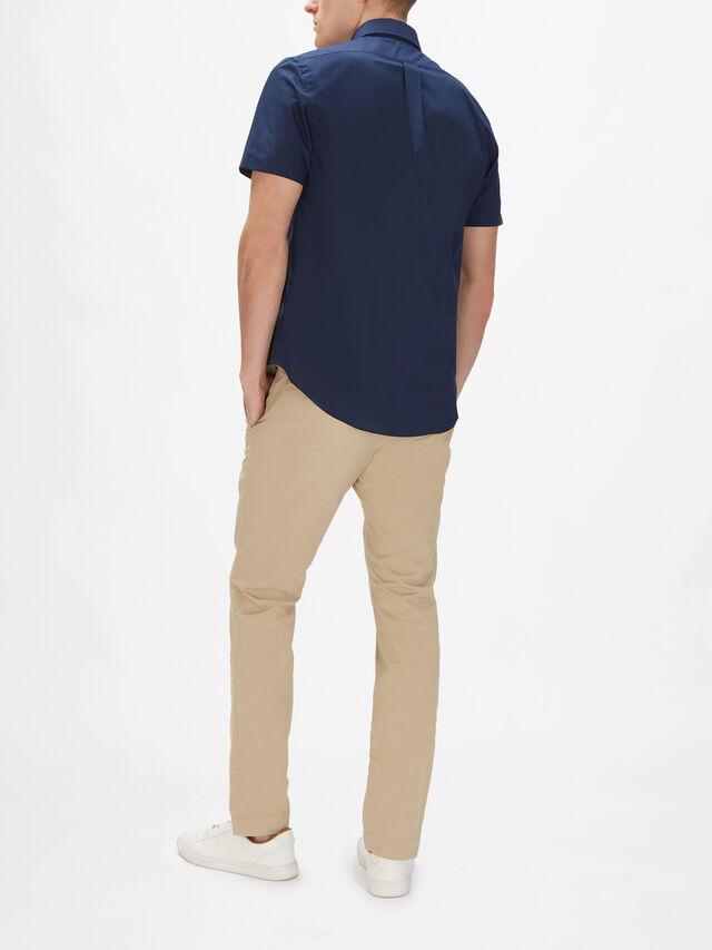 Custom Fit Poplin Shirt