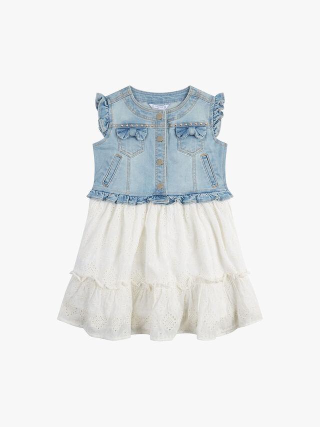 Denim & Embridery Anglais Dress