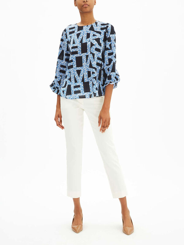 Bedford Printed Blouse