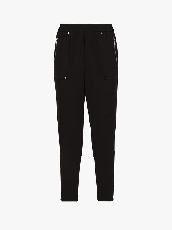 Sporty Cargo Zip Pant
