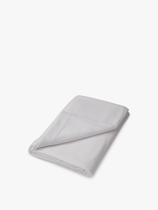 Brushed Cotton Plain Dye Flat Sheet