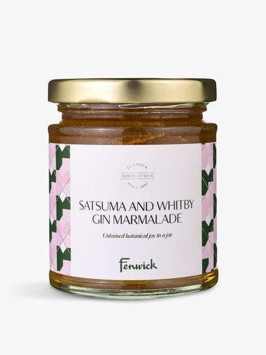 Satsuma and Whitby Gin Marmalade