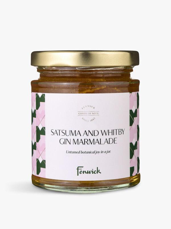 Satsuma and Whitby Gin Marmalade