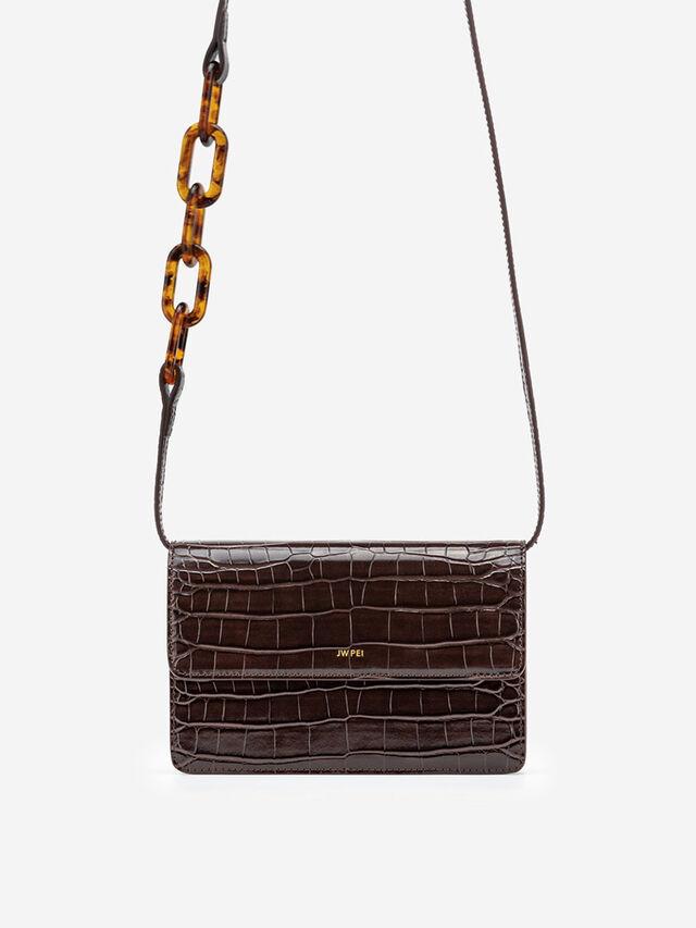 Julia Acrylic Chain Crossbody bag