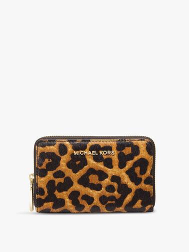 Jet Set Cheetah Haircalf SM ZA Card Case