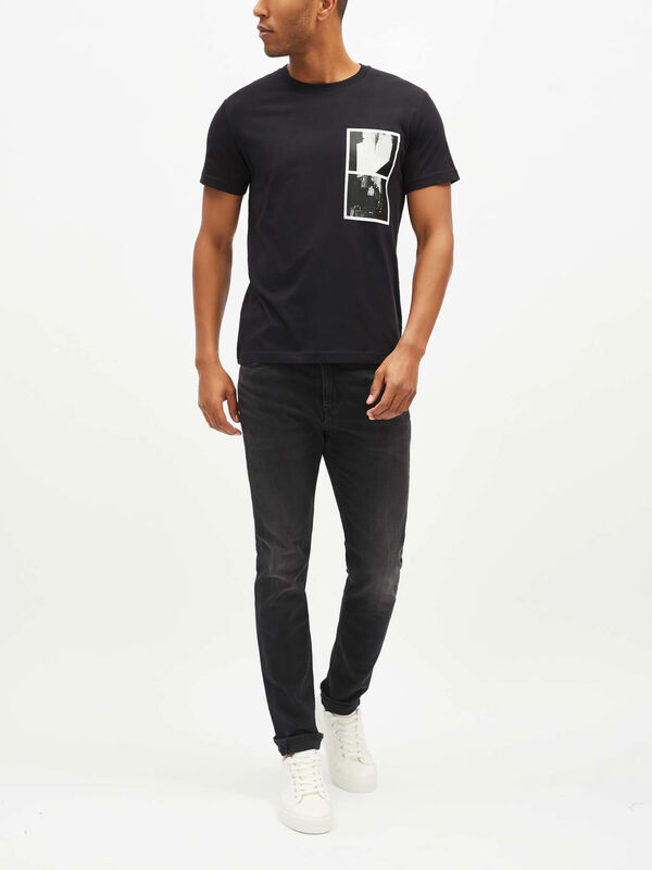 Relaxed NY Photographic Print T-Shirt