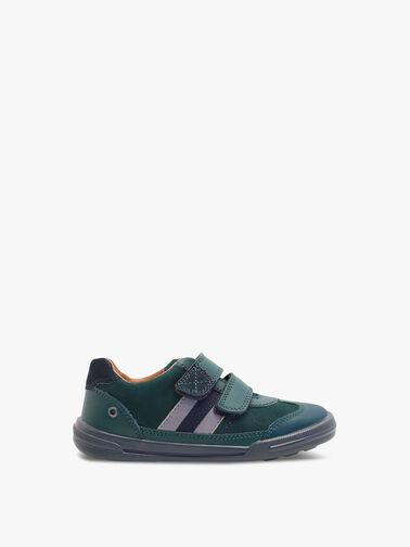 Seesaw-Dark-Green-Leather-Pre-School-Shoes-1725-8