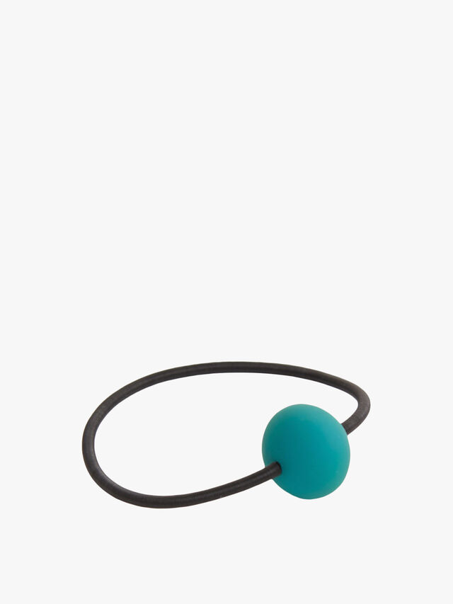 Primula Bracelet black wire with bead