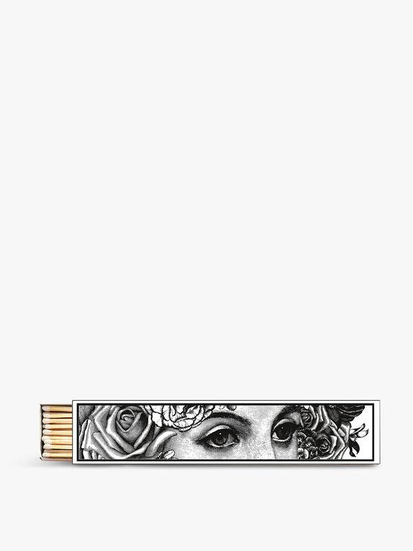 Eye Print Long Boxed Matches