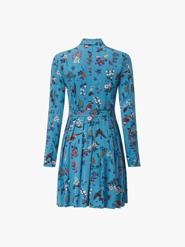 Densita Long Sleeve Shirt Dress