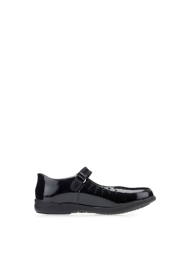 Mary Jane Black Patent School Shoes