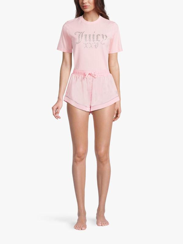 Pia Satin Shorts