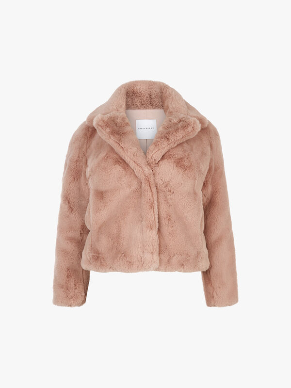 Faux Fur Short Lux Jacket