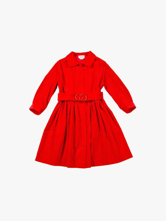 Long Sleeved Cord Dress