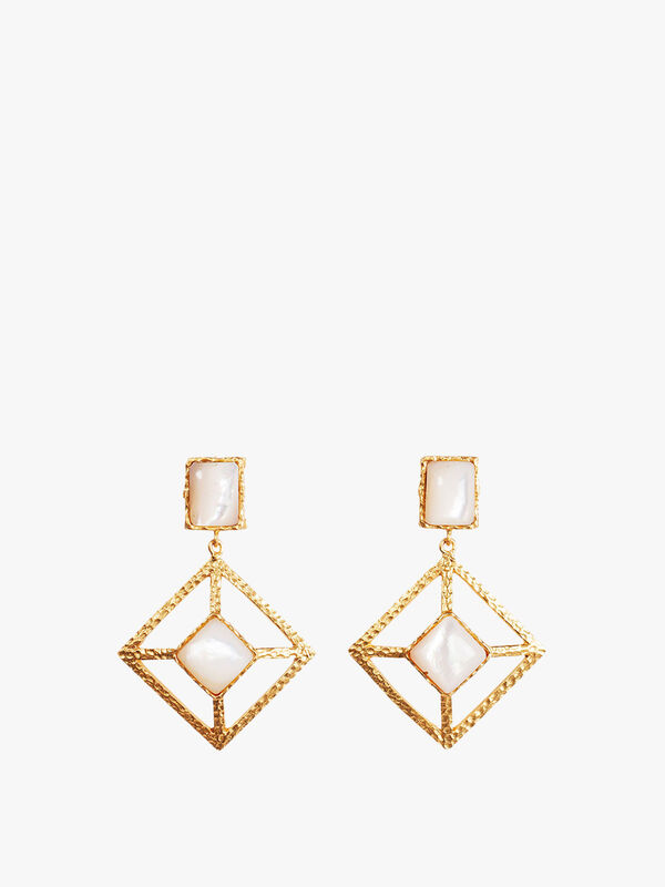Milox Earring - Pearl - Miloxs Earrings