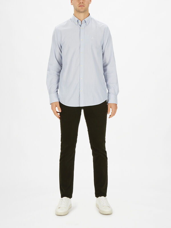 Tech Prep Royal Oxford Shirt
