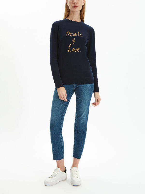 Desert Of Love Cashmere Jumper