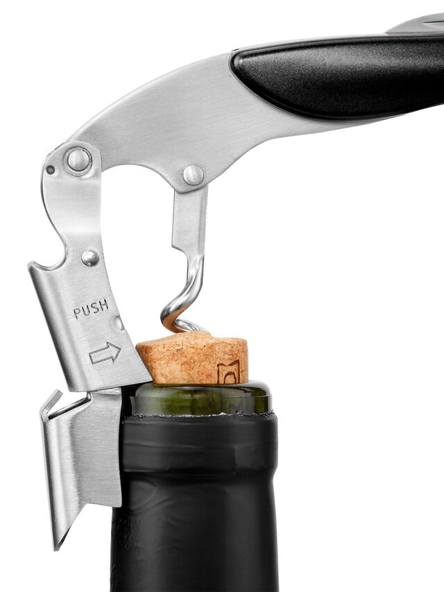 Waiter's Corkscrew Black