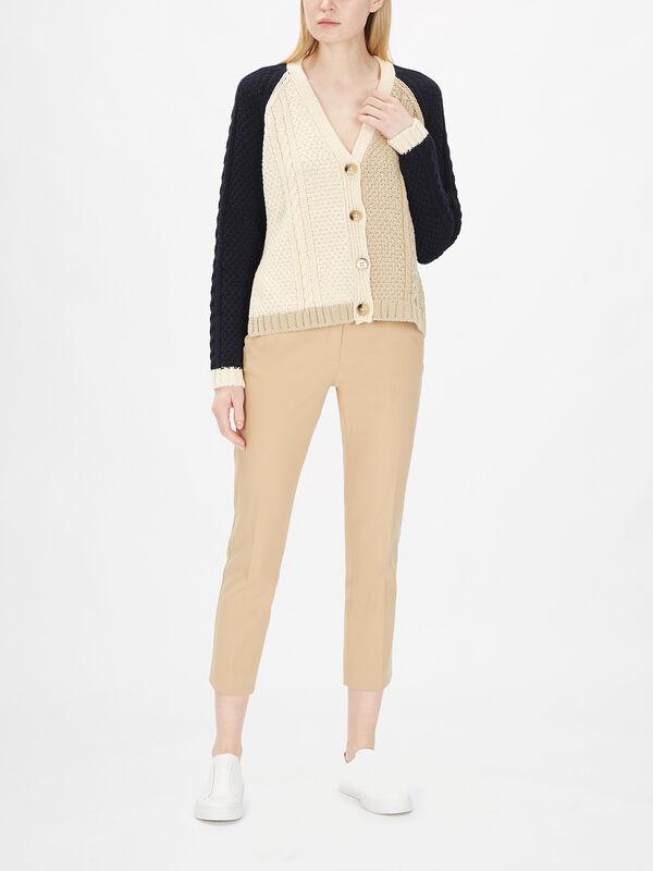 Lipari Colour Block Cardigan