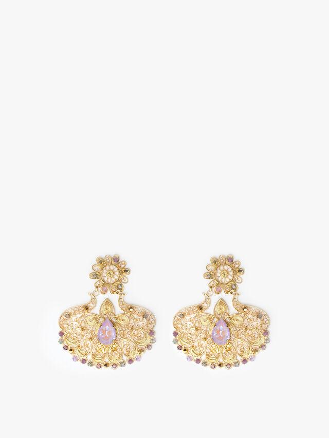 Filigree Earring Lavanda Delite
