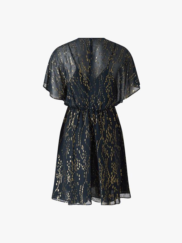 Penna Lurex Short Dress