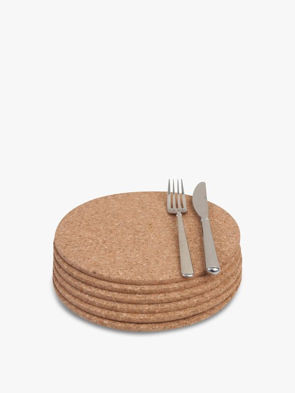 Round Tablemats Set of 6
