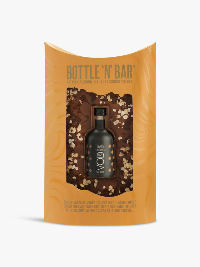 Bottle N Bar with Salted Caramel Vodka