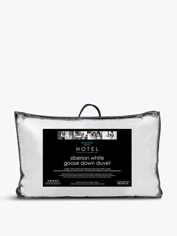 Siberian Goose Down Duvet 4.5 Tog