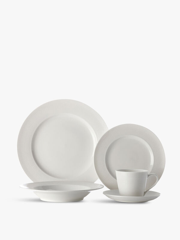 CD Casual White Evolve Dinner Set 20 Piece