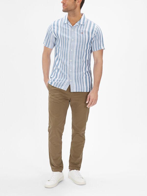 Stripe Camp Shirt
