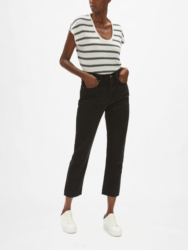 Le Original High Rise Mom Fit Jeans