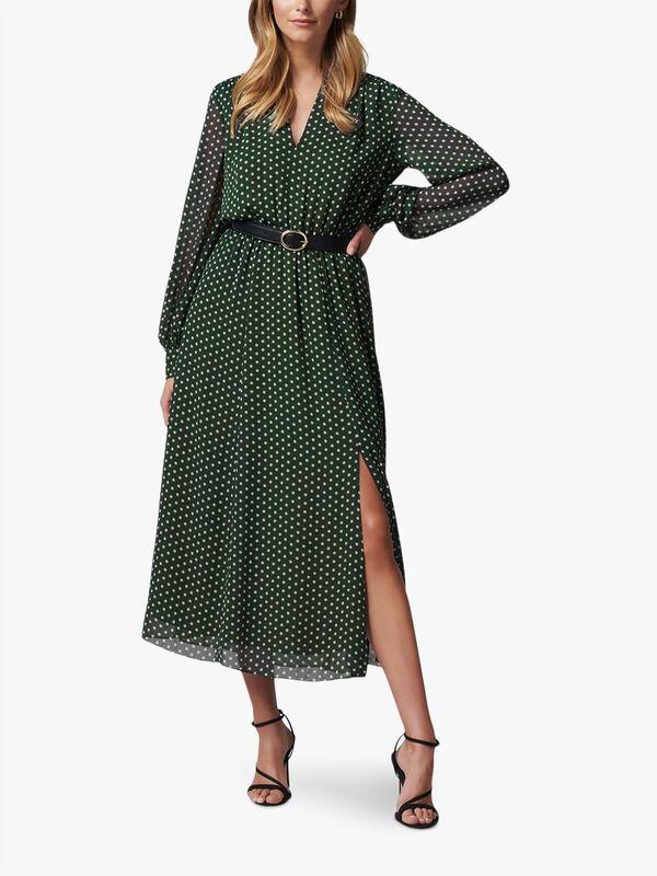 Aria Belted Midi Shirt Dress