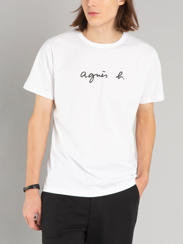 "short sleeves ""agnès b."" t-shirt"