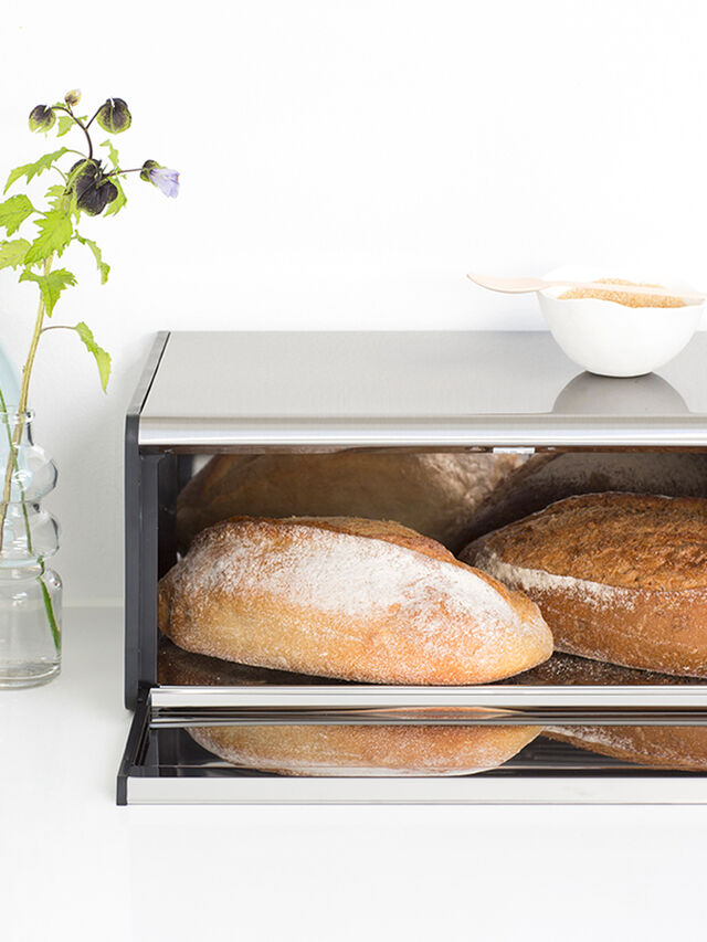 Fall Front Bread Bin