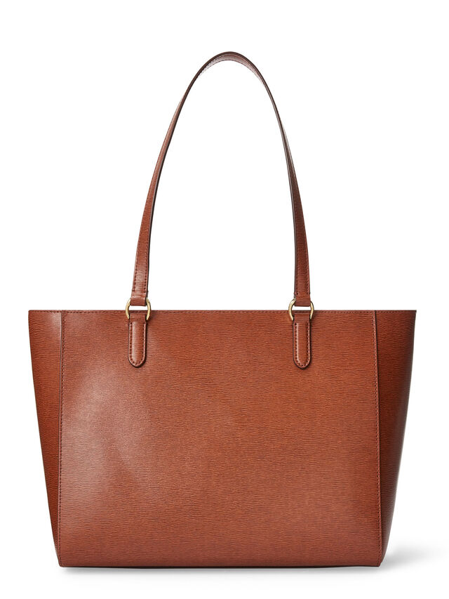Saffiano Leather Tote