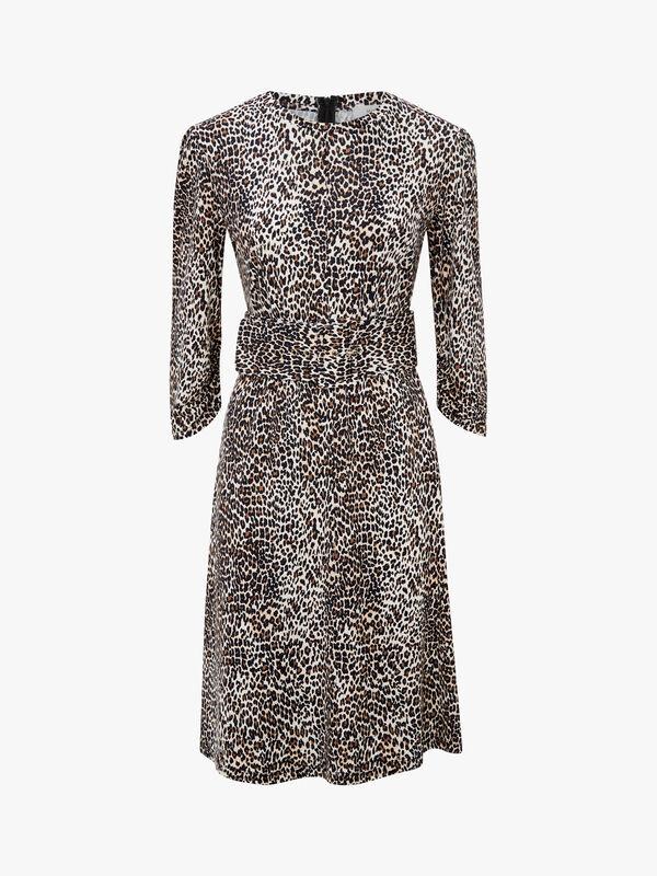 Alfredo Belted Jersey Dress