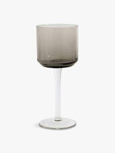 Retro White Wine Glass