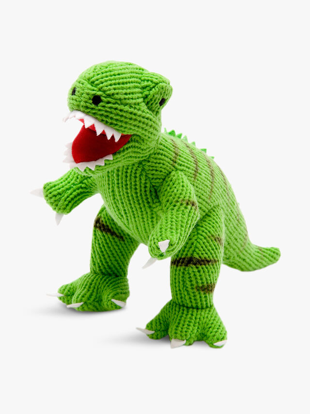 Knitted T-rex Large Toy