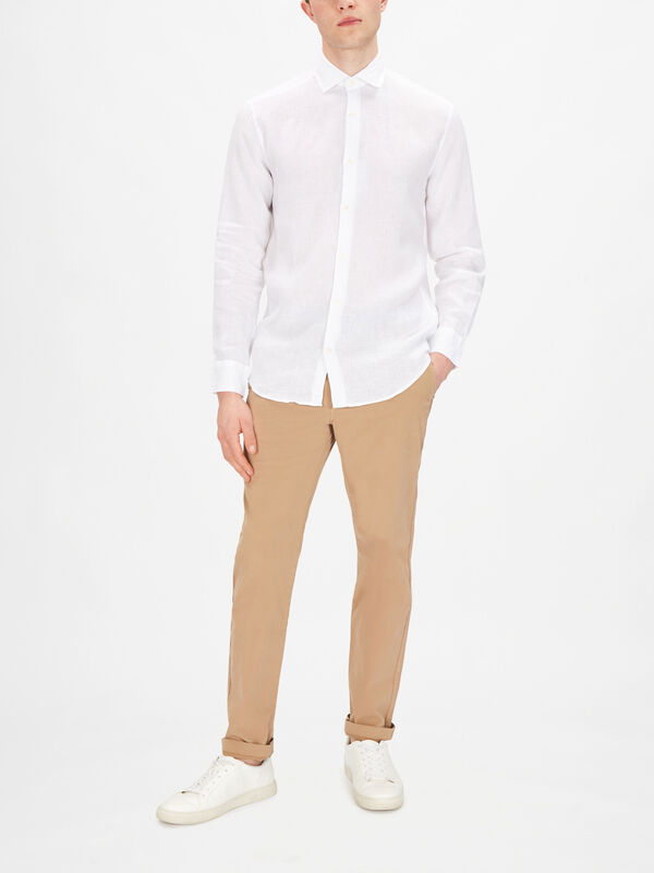 Antonio Linen Tailored  Shirt