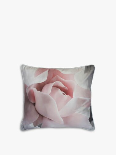 Porcelain Rose Feather Filled Cushion