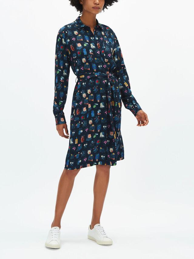 Fenwick Exclusive Printed Shirt Dress