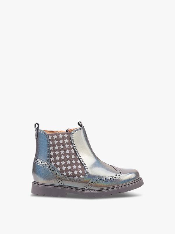 Chelsea Multi Metallic Patent Boots