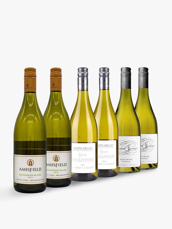 Wine Buyers Choice Mixed White Wine Case