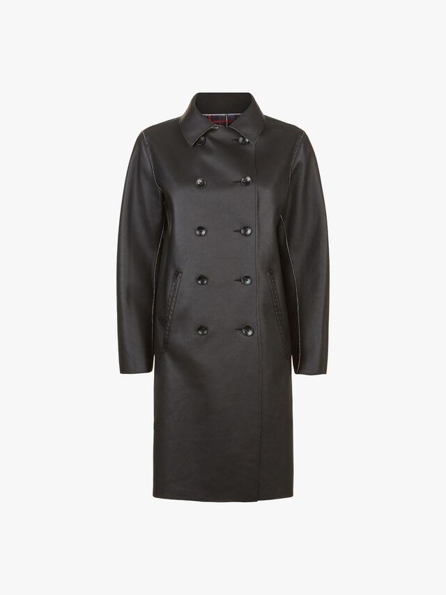 Check Bonded Reversible Coat