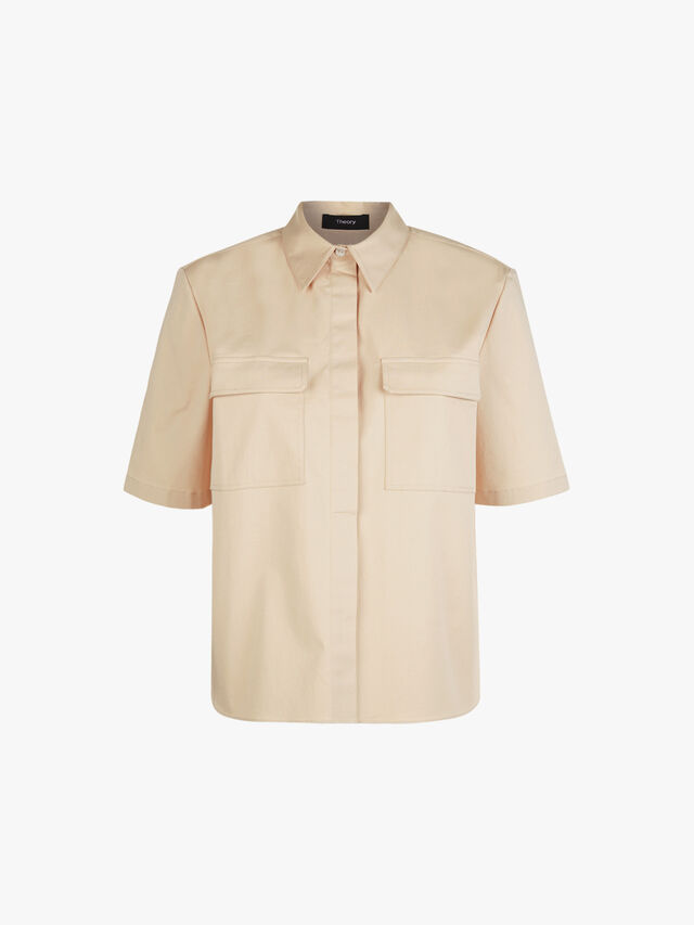 Cargo Patch Pocket Shirt