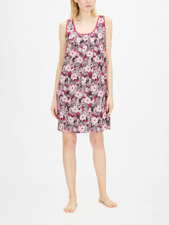 Ariana Pink Floral Print Chemise