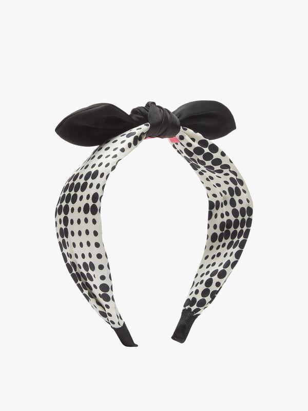 Knot Polka Dot Headband